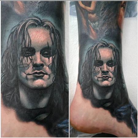 Tattoos - The Crow Mini Portrait - 108691