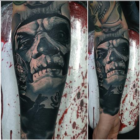 Tattoos - Papa Emeritus II / Ghost Tattoo - 112501