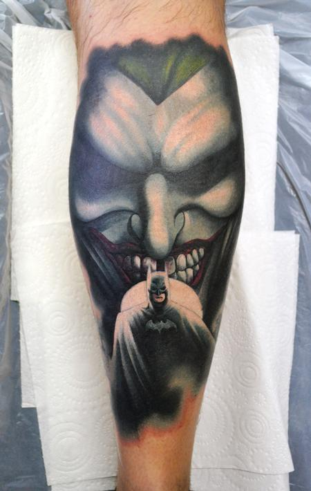 Tattoos - The Dark Knight and The Clown Prince Of Crime - 122335