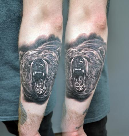 Tattoos - Small Bear Tattoo - 139074