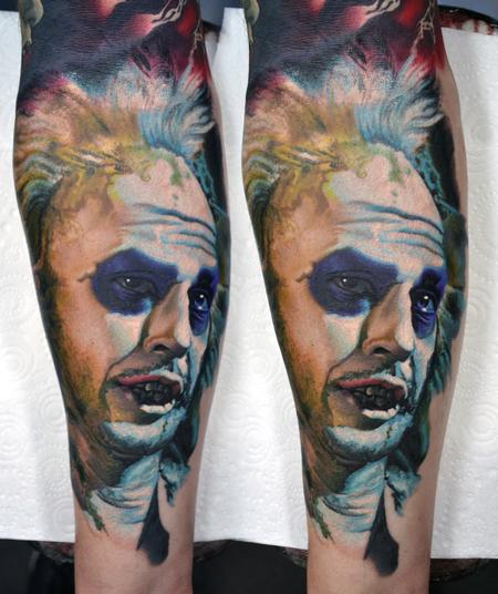 Tattoos - Beetlejuice!! Beetlejuice!! Beetlejuice!! Portrait Tattoo - 126610
