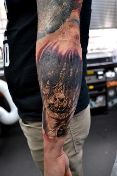 Alan Aldred - Billy Hocus Pocus Portrait Tattoo