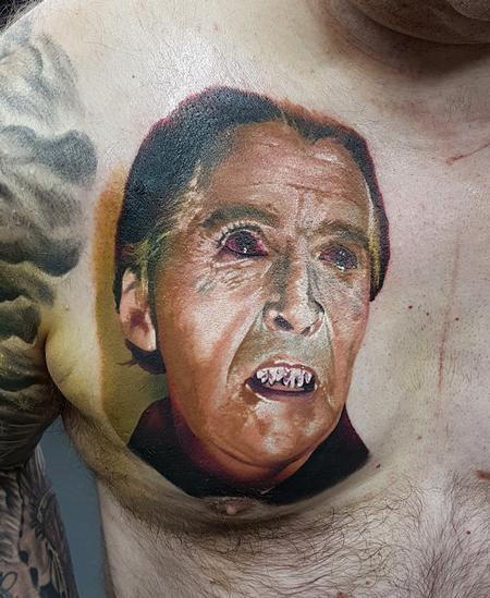 Tattoos - Christopher Lee Dracula - 133216