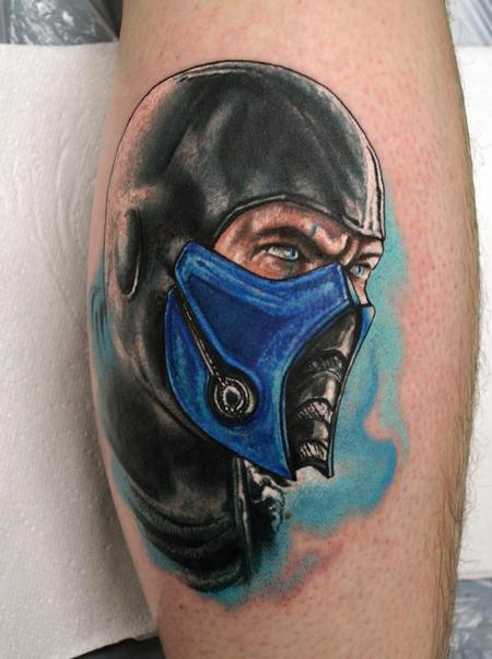 Tattoos - Sub Zero Mortal Kombat - 111409