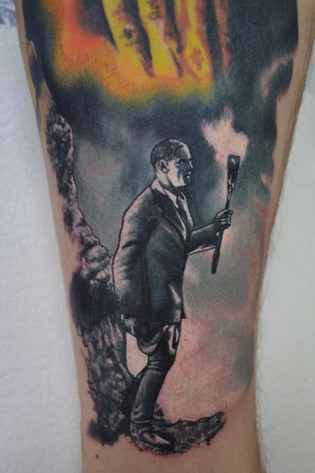 Tattoos - Henry Frankenstein searching for his Monster! - 104351