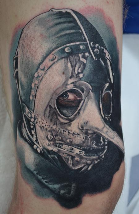 Tattoos - Slipknot Colour Portrait - 104347
