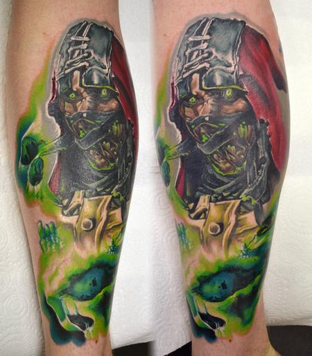 Tattoos - Ermac Mortal Kombat Tattoo - 114394