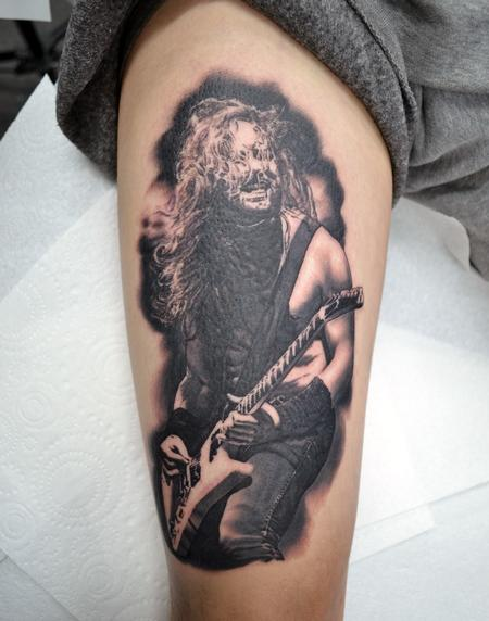 Tattoos - James Hetfield Metallica Portrait - 133538