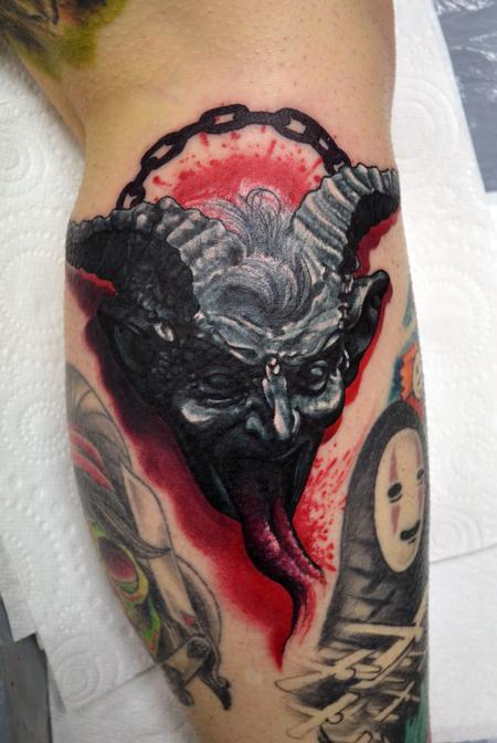 Tattoos - Krampus Tattoo - 111984