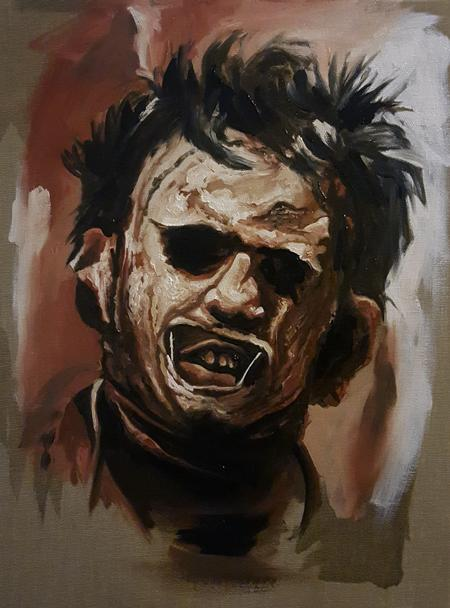 Alan Aldred - Leatherface 2hr Alla Prima Painting
