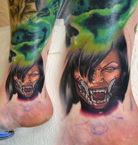 Tattoos - Mileena Mortal Kombat X Mini Portrait - 139762