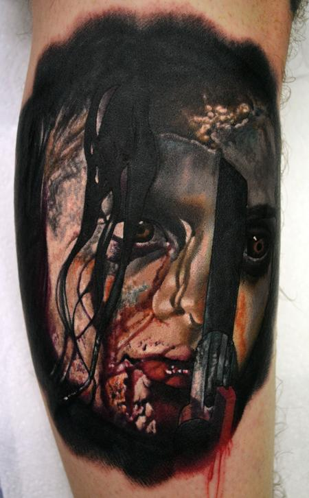Tattoos - Evil Dead Portrait Tattoo - 111928