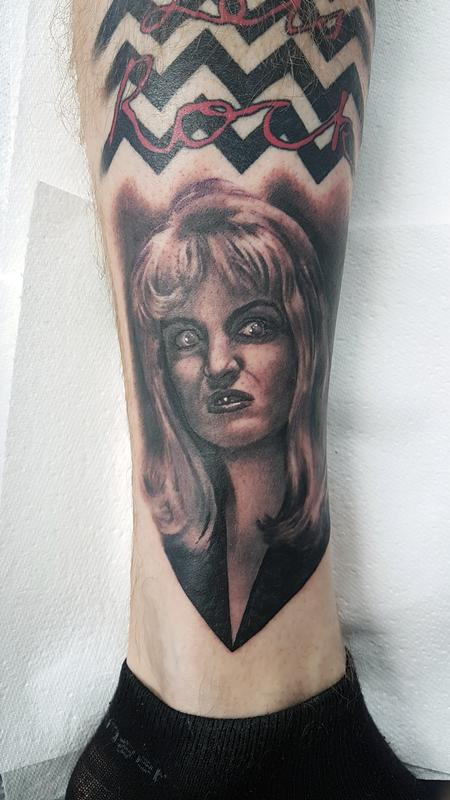 Tattoos - Mini Laura Palmer Portrait - 134261