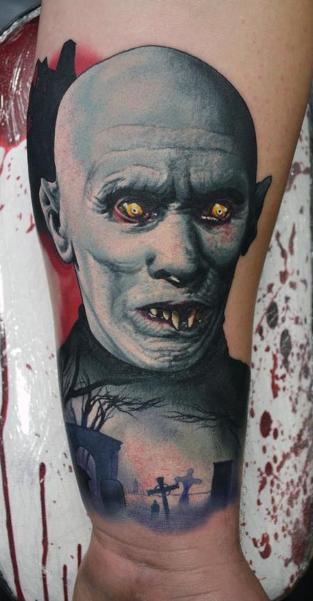 Tattoos - Mr Barlow Vampire Tattoo - 111807