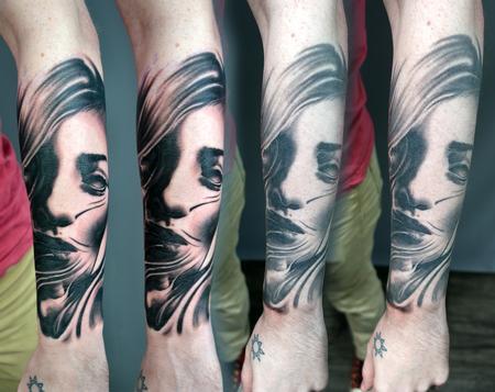 Tattoos - Surreal Textured Tattoo - 142937