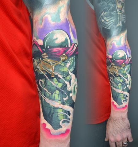 Tattoos - Mysterio Spiderman Tattoo - 142940
