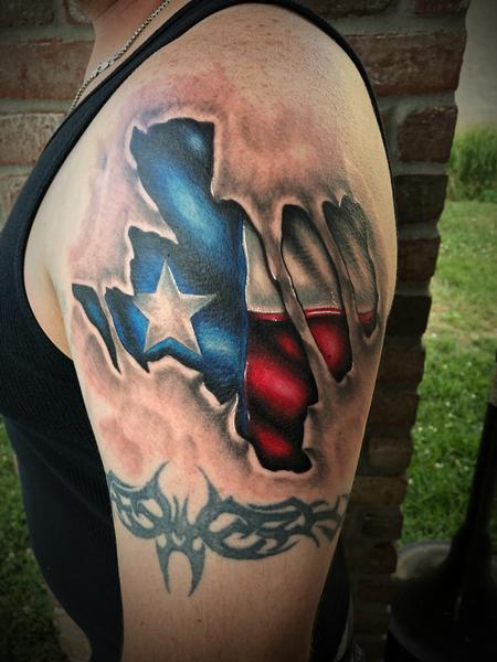 Tattoos - Texas skin rip - 134058