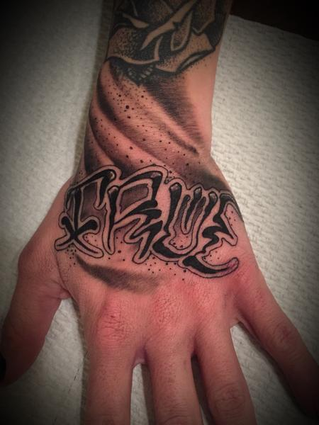 Tattoos - Lettering TRUE - 131896