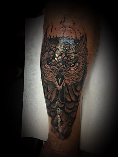 Tattoos - Owl - 137589