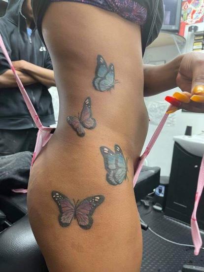 Courtney Morrison (MADISON) - Butterflies
