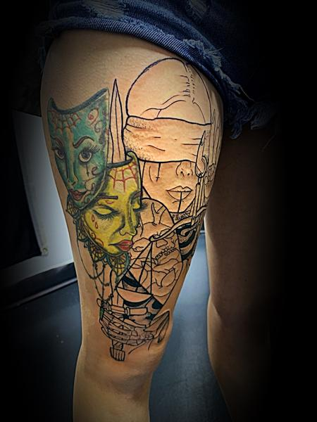 Tattoos - Lady liberty  - 140001