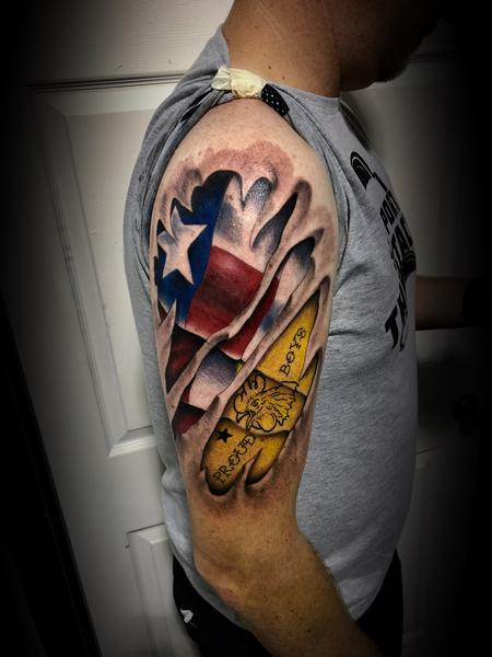 Tattoos - Texas proud - 134474