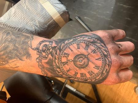 Tattoos - Pocket watch  - 141690