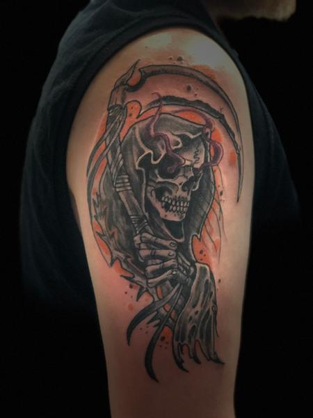 Reaper Tattoo Design