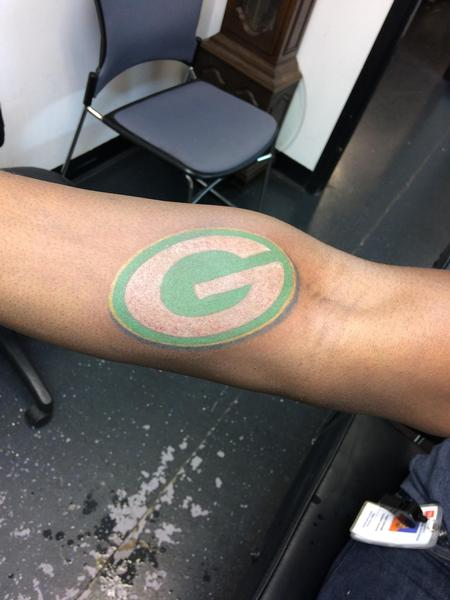 Tattoos - Packers logo - 140140