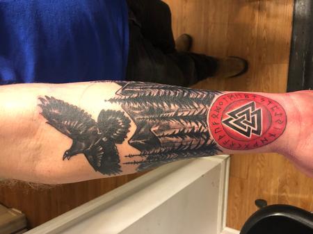 Tattoos - Crow - 142629
