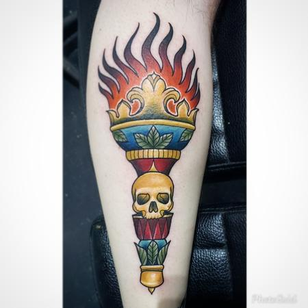 Tattoos - Torch - 142586