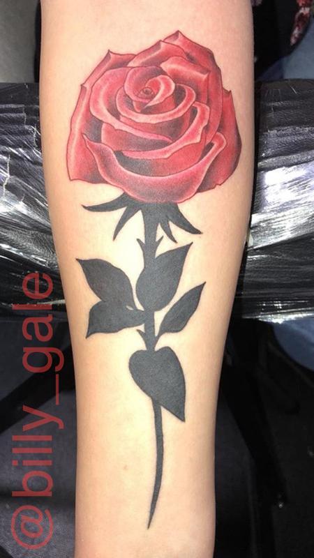 Tattoos - Rose Tattoo - 130849