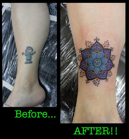 Tattoos - Before and After - 141002