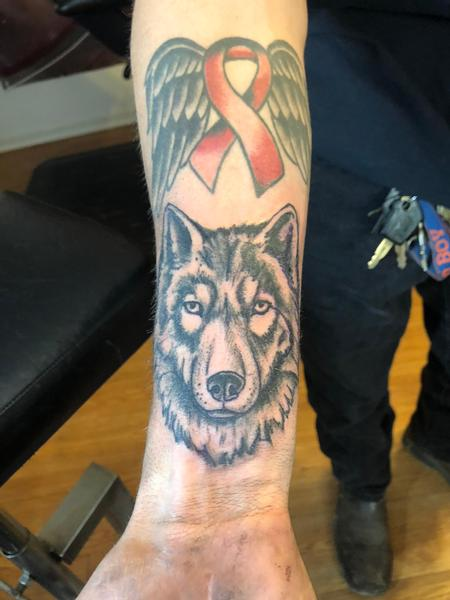 Tattoos - Wolf - 136184