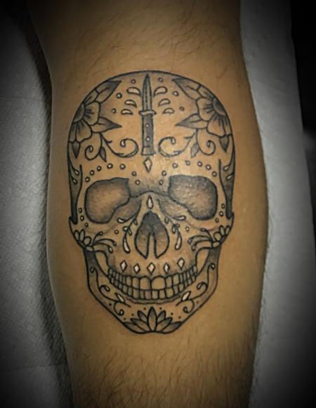 Tattoos - Sugar Skull - 140495