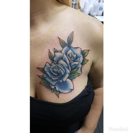 Tattoos - Rose coverup - 140511