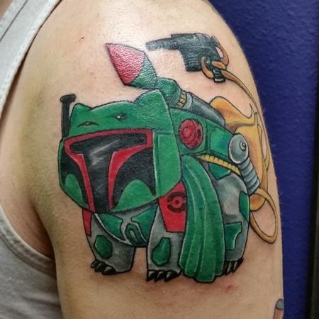Tattoos - Bulba Fett Pok�mon/Star Wars Mashup  - 140821