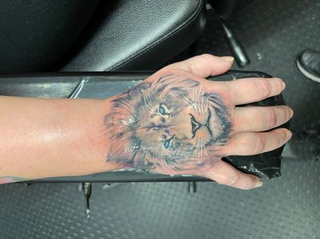 Tattoos - Lion - 143291