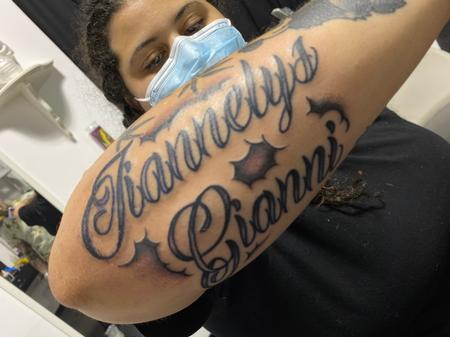 Tattoos - Lettering - 142601