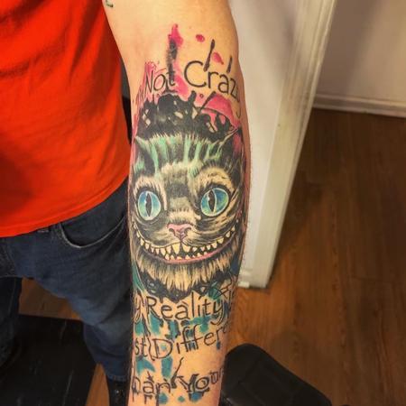 Tattoos - Cat - 142618
