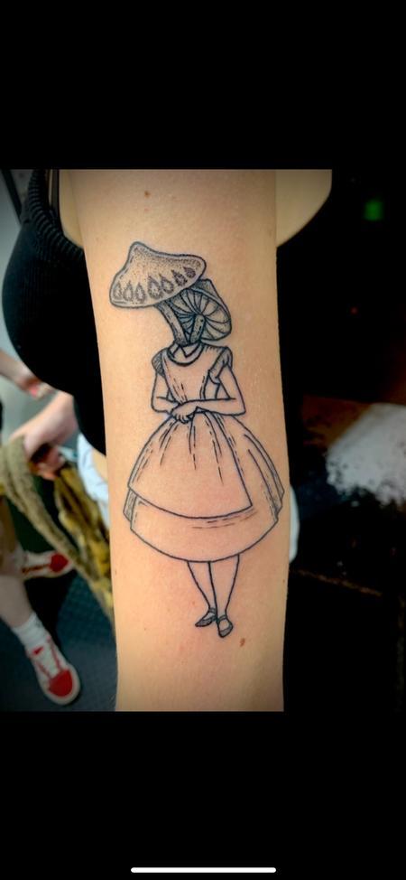 Tattoos - Alice shrooms - 143031