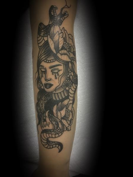 Tattoos - Gypsy Snake Tattoo - 141791