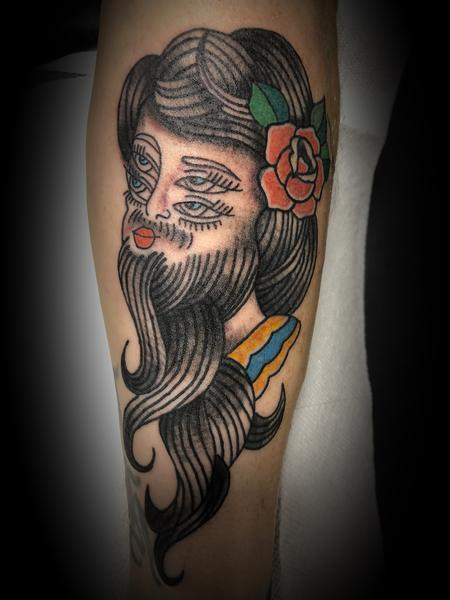 nick sadler - Bearded lady