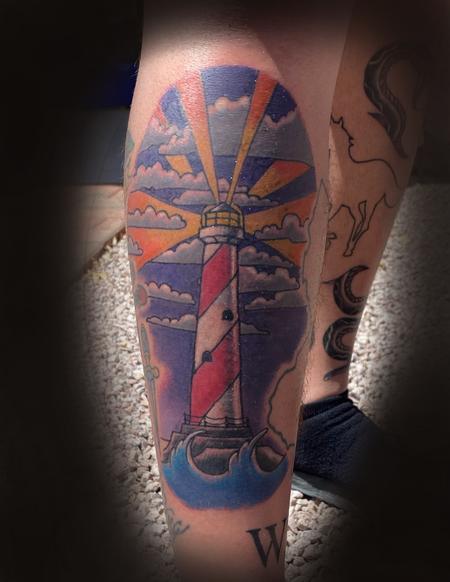 Tattoos - Lighthouse - 142685