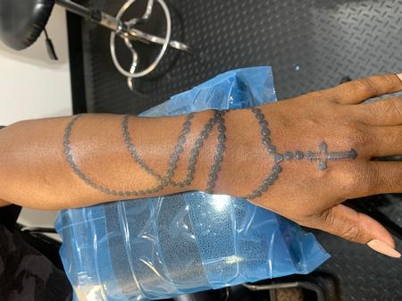 Tattoos - Rosary - 143033