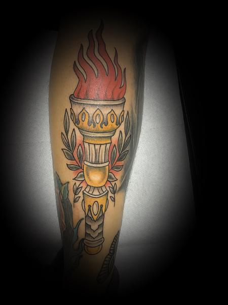 Tattoos - Torch - 140501