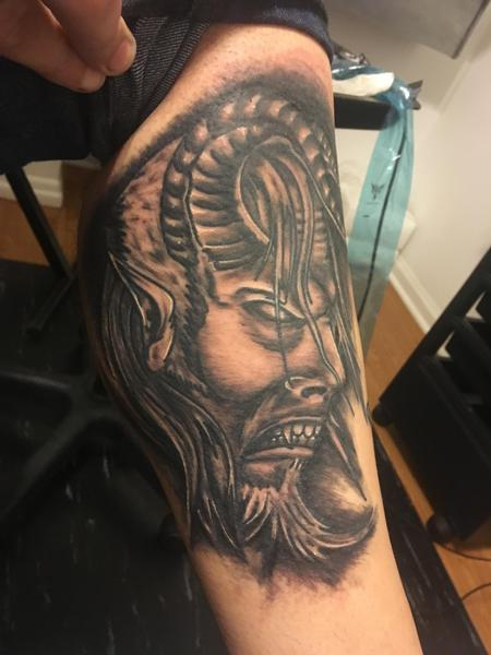Tattoos - Demon head - 140143