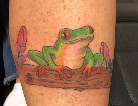 Tattoos - Frog - 142624