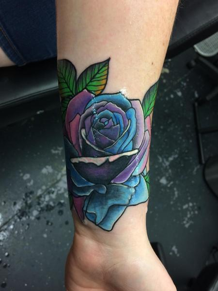 Tattoos - Rose cover up  - 139406