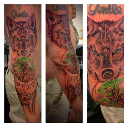 Tattoos - Wolf  - 141548